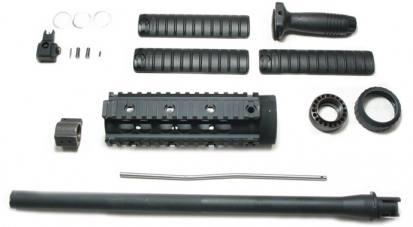SR25 Rail System w/ Barrel Set-(Inner Barrel Length: 364mm)