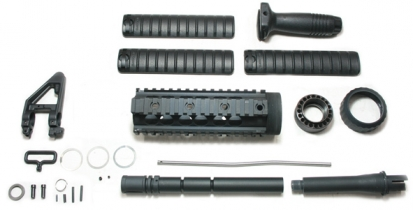 SR25 Rail System w/ Barrel Set-(Inner Barrel Length:286mm)
