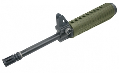 M15A4 Carbine Outer Front Barrel Set (OD Green)