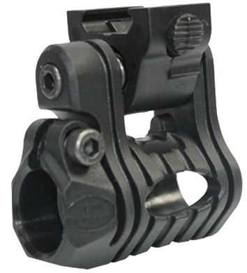 "Laser / Flash Light QD Mount for Pistol (Fits 0.98"" - 1"" diameter)"