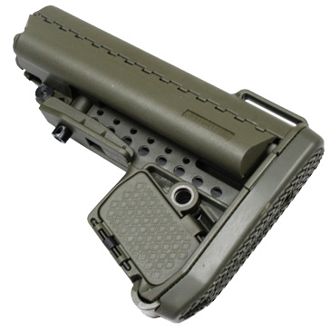 Enhanced Carbine Modstock for Li-po battery (OD Green)