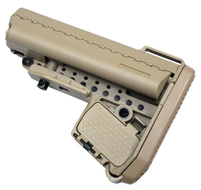Enhanced Carbine Modstock for Li-po battery (Tan)